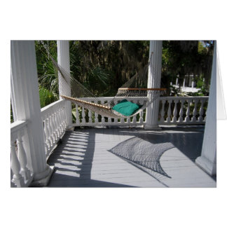 Hammock on the Porch Card