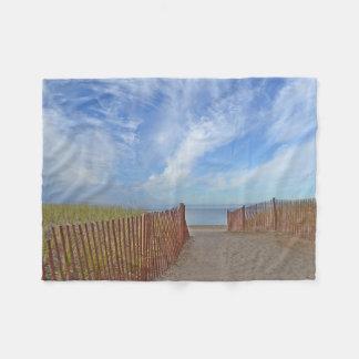 Hammonasset Beach Fleece Blanket