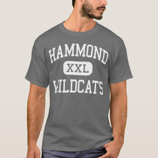 Hammond - Wildcats - High School - Hammond Indiana T-Shirt