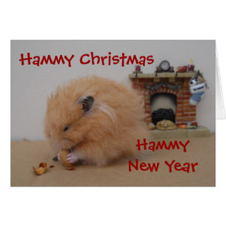 Hammy Christmas Card