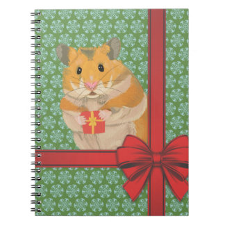 Hammy Christmas Hamster Christmas Notebook