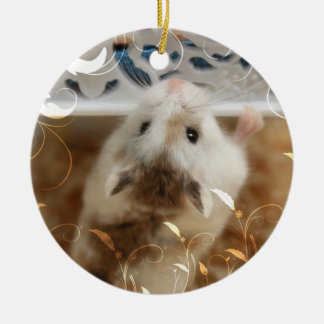 Hammyville - Cute Hamster Ceramic Ornament