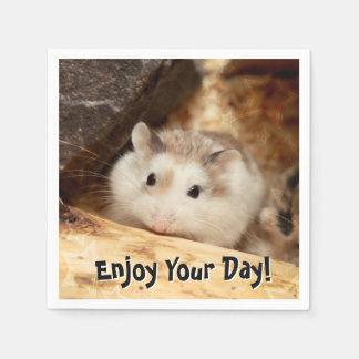 Hammyville - Cute Hamster Disposable Napkin