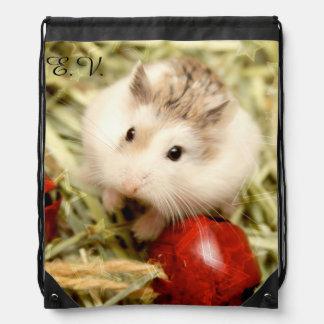 Hammyville - Cute Hamster Drawstring Bag