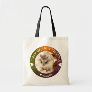 Hammyville - Cute Hamster Everyday is a Blessing Tote Bag