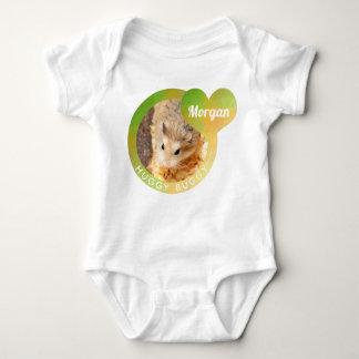 HammyVille - Cute Hamster Heart Huggy Buggy Baby Bodysuit