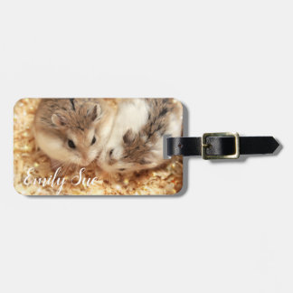 Hammyville - Cute Hamster Luggage Tag