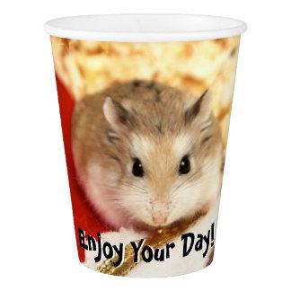Hammyville - Cute Hamster Paper Cup