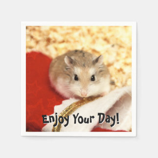Hammyville - Cute Hamster Paper Napkin
