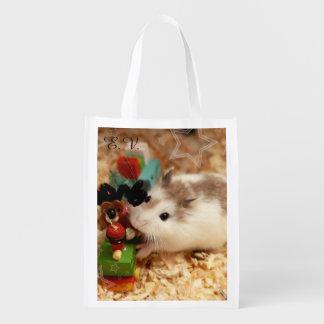 Hammyville - Cute Hamster Reusable Grocery Bag