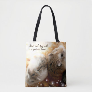 Hammyville - Two Hamsters Tote Bag