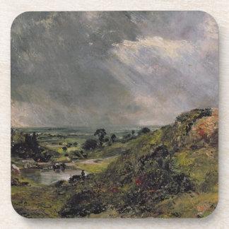 Hampstead Heath, Branch Hill Pond, 1828 Coaster