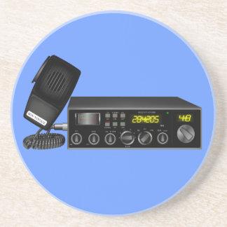 HamRadio12black Coaster
