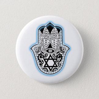 Hamsa 6 Cm Round Badge
