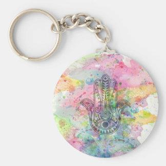 HAMSA Hand of Fatima symbol Key Ring