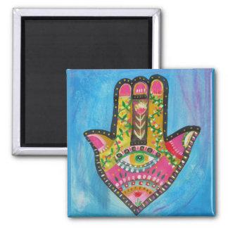 Hamsa Hand painting Magnet