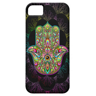 Hamsa Hand Psychedelic Art Case For The iPhone 5
