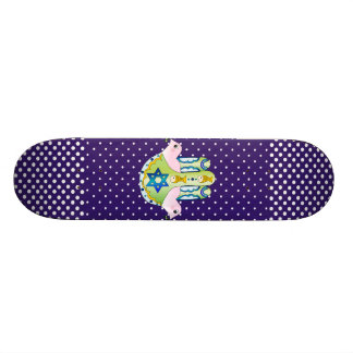 Hamsa judaica 21.6 cm skateboard deck