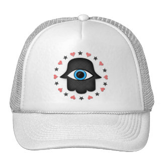 hamsa khamsa Eye in hand of the goddess Cap