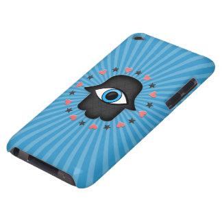 hamsa khamsa Eye in hand of the goddess iPod Touch Cover