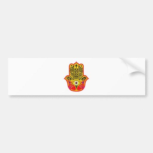 Hamsa - Magic Hamsa Bumper Sticker