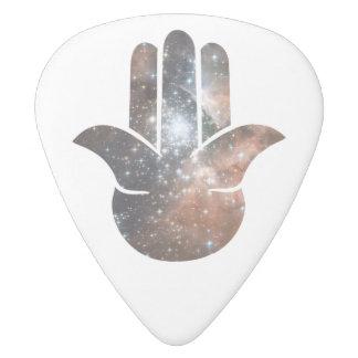 Hamsa Milky Way White Delrin Guitar Pick