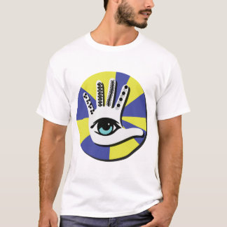 Hamsa style with blue eye T-Shirt