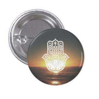 Hamsa Sunset 3 Cm Round Badge