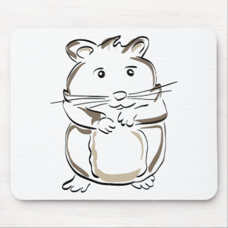 hamster-1530675 mouse pad