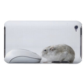 Hamster and Computer mouse iPod Touch Cases