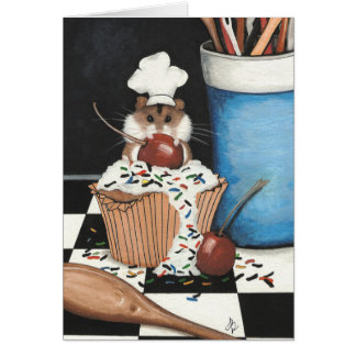 Hamster Baking Card by Bihrle