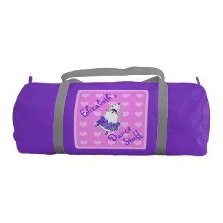 Hamster Ballerina Dance Bag purple pink