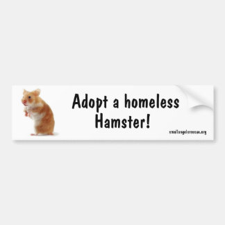 Hamster Bumpersticker Bumper Sticker