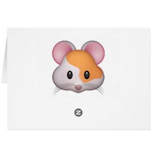 Hamster - Emoji Card