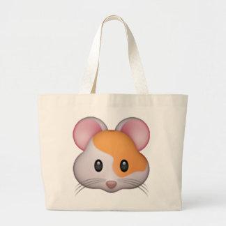 Hamster - Emoji Large Tote Bag