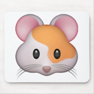 Hamster - Emoji Mouse Pad
