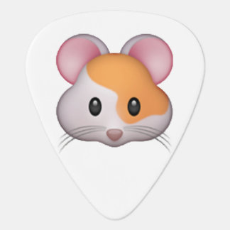 Hamster - Emoji Plectrum