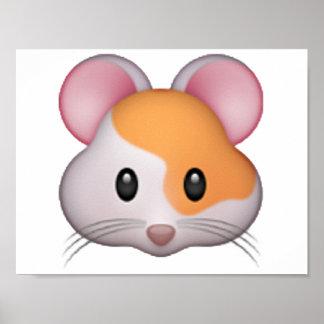 Hamster - Emoji Poster