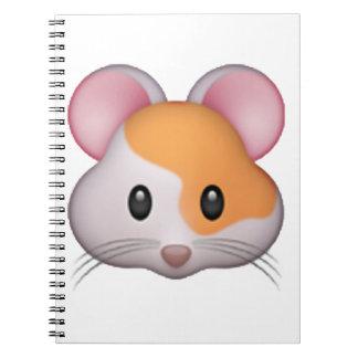 Hamster - Emoji Spiral Notebook