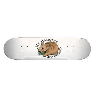 Hamster Friend 21.6 Cm Skateboard Deck