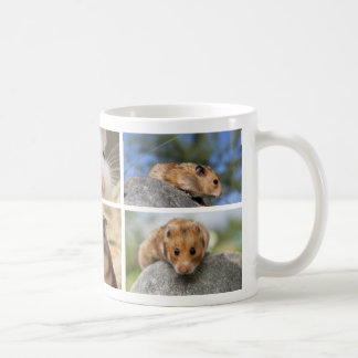 Hamster/Gerbil Photo Collage Mug