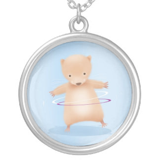 Hamster - necklace