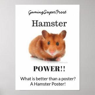 Hamster Power Poster