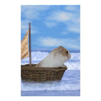 Hamster Sailor Stationery