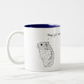 Hamster, Things Got Weird, Animal Mug