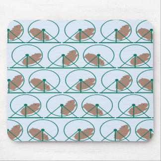 Hamster Wheel Mousepad