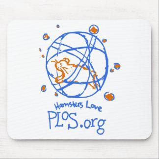 Hamsters Love PLoS Mousepad