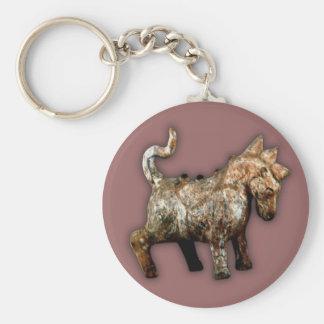Han Dynasty artifact terracotta horse Key Chains