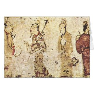 Han Dynasty Gentlemen Card