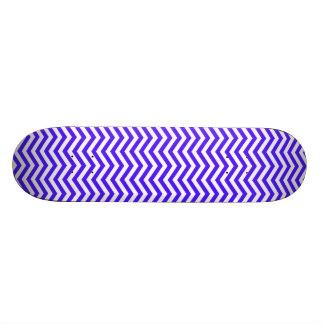 Han Purple Chevron Stripes 21.6 Cm Skateboard Deck